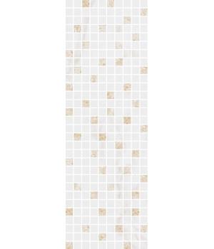 Декор Астория белый мозаичный