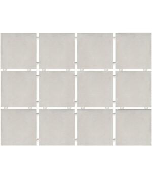 Амальфи серый светлый, полотно 30х40 из 12 частей 9,9х9,9