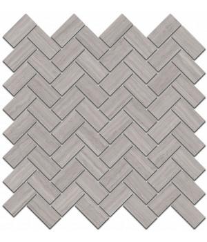 Декор Грасси серый мозаичный