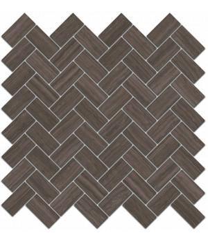 Декор Грасси коричневый мозаичный