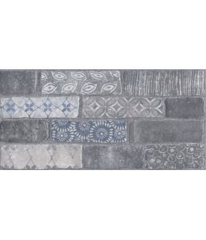 Кампалто серый декорированный обрезной