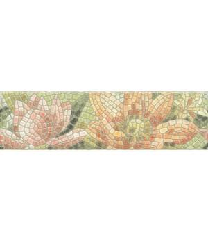 Бордюр Летний сад Лилии лаппатированный