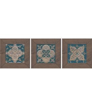 Вставка Меранти венге мозаичный