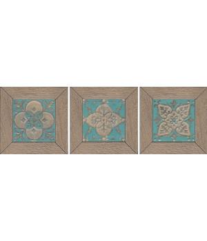 Вставка Меранти беж мозаичный