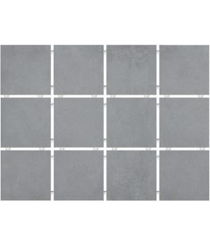 Амальфи серый, полотно 30х40 из 12 частей 9,9х9,9