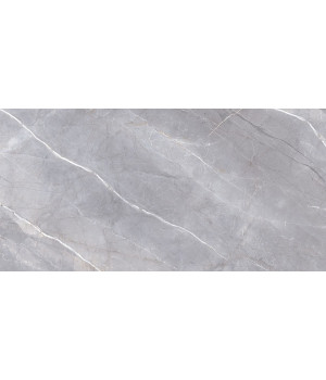 Риальто серый декор левый лаппатированный