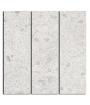 Декор Терраццо серый светлый мозаичный