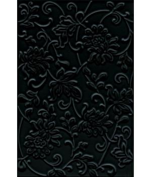Аджанта цветы черный