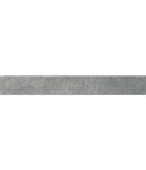 Плинтус Королевская дорога серый темный обрезной
