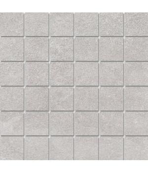 Декор Про Стоун серый светлый мозаичный