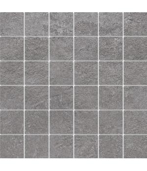 Декор Про Стоун серый темный мозаичный
