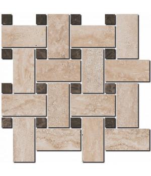 Декор Амбуаз беж светлый мозаичный