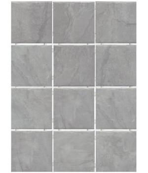 Дегре серый, полотно 30х40 из 12 частей 9,9х9,9