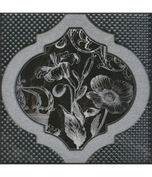 Декор Фрагонар чёрный