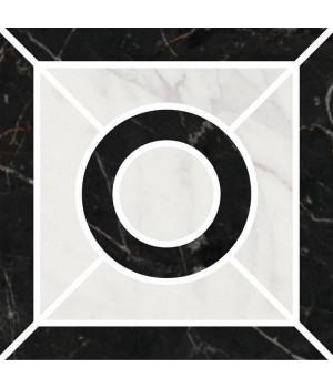Декор Фрагонар наборный чёрный