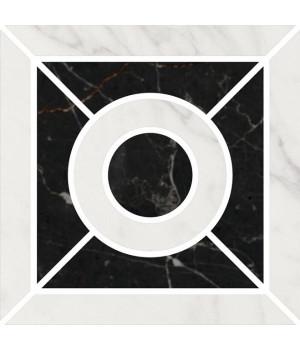 Декор Фрагонар наборный белый