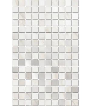 Декор Гран Пале белый мозаичный