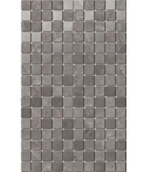 Декор Гран Пале серый мозаичный