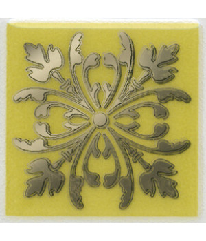 Вставка Клемансо оливковый