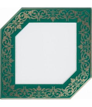 Декор Клемансо зеленый