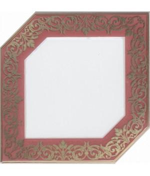 Декор Клемансо розовый