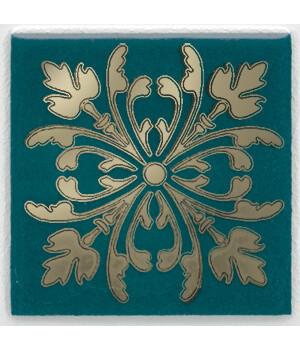 Вставка Клемансо зелёный темный