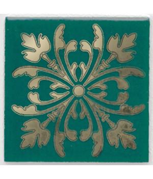 Вставка Клемансо зелёный