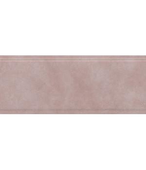 Бордюр Марсо розовый обрезной