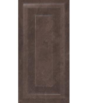 Версаль коричневый панель обрезной