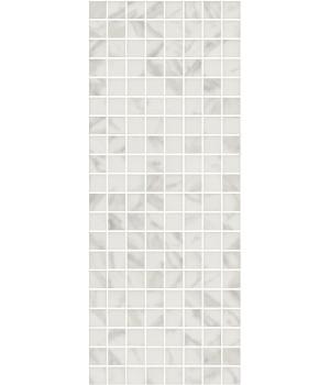 Декор Алькала белый мозаичный