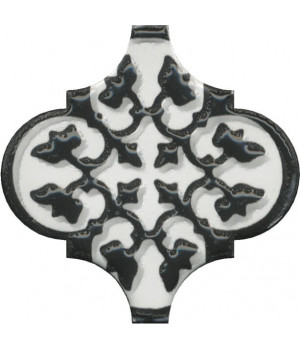 Декор Арабески глянцевый орнамент