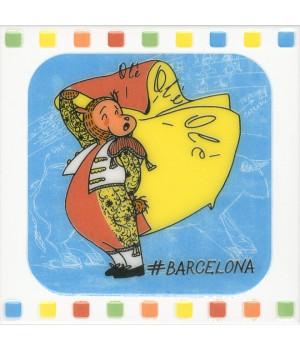 Декор Большое путешествие Barcelona
