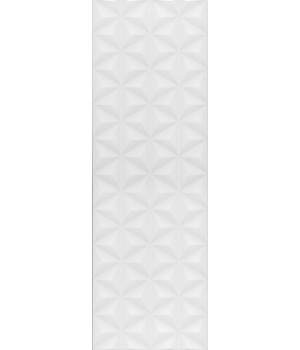 Диагональ белый структура обрезной