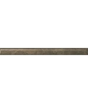 Бордюр Гран-Виа коричневый светлый обрезной
