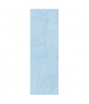 Керамическая плитка Alisia blue wall 02 рельеф