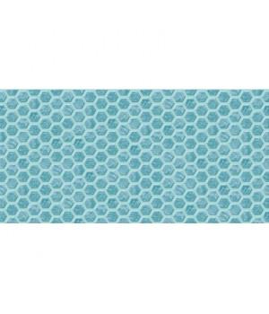 Керамическая плитка Анкона низ бирюзовый