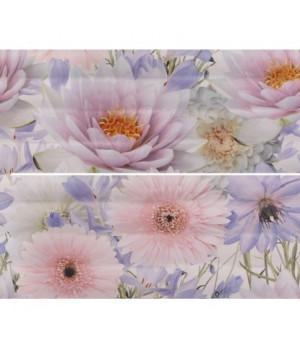 Керамическое панно Aquarelle lilac 01