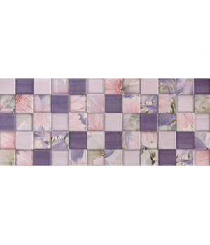 Керамическая плитка Aquarelle lilac wall 03
