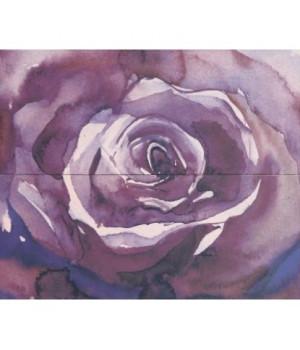 Керамическое панно Arabeski purple 02