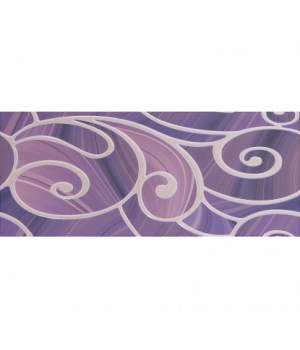 Керамический декор Arabeski purple 01
