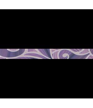 Керамический бордюр Arabeski purple 01