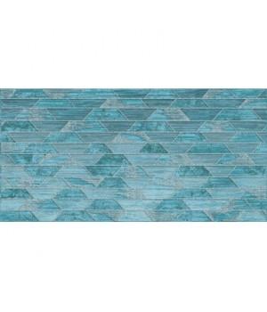 Керамический декор Арагон 18-03-71-1239 бирюзовый