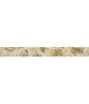 Керамический бордюр Bliss beige 01