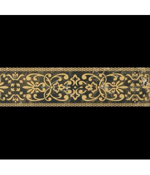 Керамический бордюр Bohemia brown 01