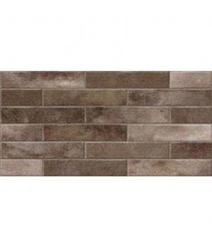 Керамический гранит Bricks коричневый BC4L112D