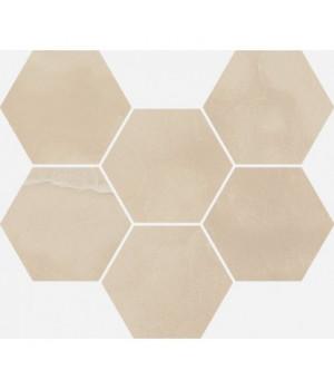 Керамический декор Charme Evo Onyx Mosaico Hexagon