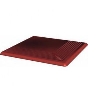 Ступень CLOUD ROSA красно-коричневый угловая