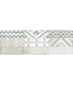 Керамическая плитка Collage white wall 02 (рандомно 9шт)
