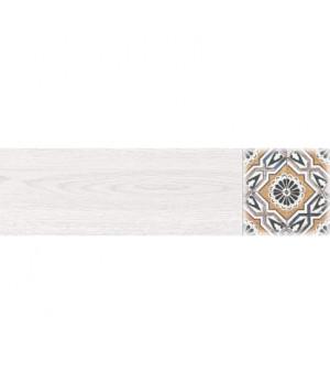 Керамический декор Дуб 2 GP белый