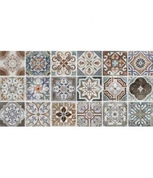 Керамическая плитка Emilia multi wall 02 матовая (рандомно 18 шт)